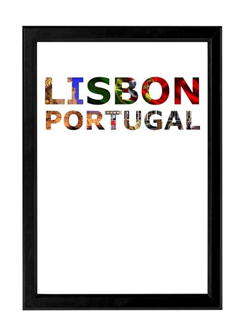Decarthome Lizbon Anı Çerçevesi 21x30 cm Siyah